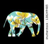 Cartoon Elephant. The...