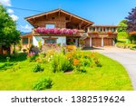 Traditional Alpine House In...