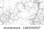 dry brush strokes and scratches ... | Shutterstock .eps vector #1382543537