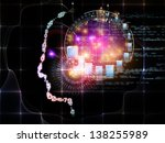 intelligence series. background ... | Shutterstock . vector #138255989