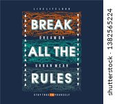 word slogan with text frame... | Shutterstock .eps vector #1382565224
