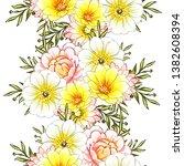 abstract elegance seamless... | Shutterstock . vector #1382608394