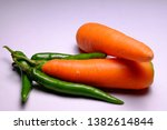 pictures of green chilies and...