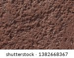 close up of red stony wall | Shutterstock . vector #1382668367