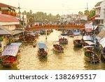 amphawa samut songkhram... | Shutterstock . vector #1382695517