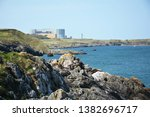 wylfa nuclear power station and ... | Shutterstock . vector #1382696717