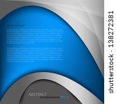 blue background vector... | Shutterstock .eps vector #138272381