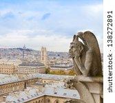 Gargoyle On Notre Dame...