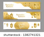 ramadan kareem background eid... | Shutterstock .eps vector #1382741321