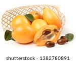 fresh raw orange japanese... | Shutterstock . vector #1382780891