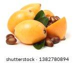 fresh raw orange japanese... | Shutterstock . vector #1382780894