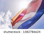 Dutch Flag With Orange Streamer ...
