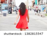 portrait of a young beautiful... | Shutterstock . vector #1382815547