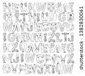 pattern kids fabric  textile ...   Shutterstock .eps vector #1382830061