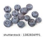 fresh ripe  blueberries  food... | Shutterstock . vector #1382836991