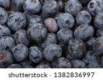 fresh ripe  blueberries  food... | Shutterstock . vector #1382836997