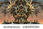 abstract background  fantastic... | Shutterstock . vector #1382850581