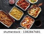 Chinese Takeaway Food. Pork...