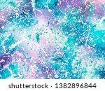 unicorn background with rainbow ... | Shutterstock .eps vector #1382896844