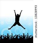 jump | Shutterstock .eps vector #13828993