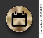 vector metal notebook icon  ...
