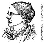 Susan B. Anthony, 1820-1906, she was an American social reformer who worked to secure women