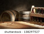 beer still life the table with... | Shutterstock . vector #138297527