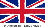 united kingdom flag background... | Shutterstock .eps vector #1382978297