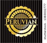 peruvian gold emblem. vector...   Shutterstock .eps vector #1383032777
