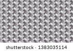 isometric seamless pattern ...   Shutterstock .eps vector #1383035114