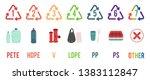 set of resin code ric... | Shutterstock .eps vector #1383112847