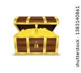 vector 3d realistic opened... | Shutterstock .eps vector #1383140861