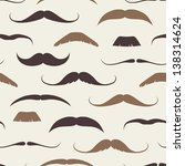 vintage seamless pattern with... | Shutterstock .eps vector #138314624