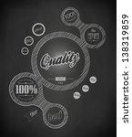 design web elements bubble ... | Shutterstock .eps vector #138319859