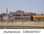 nile river   egypt   march 13 ... | Shutterstock . vector #1383207017