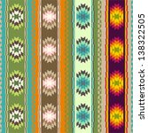ethnic abstract pattern | Shutterstock .eps vector #138322505