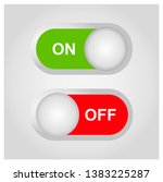 flat icon on and off toggle...