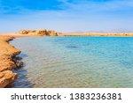 red sea coast shore in the ras...   Shutterstock . vector #1383236381