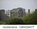 Egglestone Abbey Ruins From A...