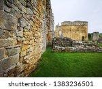 Brick Wall At Egglestone Abbey