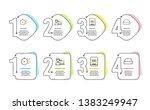 cogwheel timer  ssd and success ... | Shutterstock .eps vector #1383249947