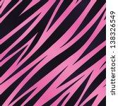 A Pink And Purple Zebra Stripe...