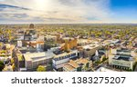 Aerial Panorama Of Allentown ...