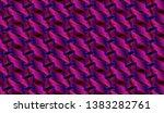 isometric seamless pattern ...   Shutterstock .eps vector #1383282761
