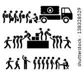 ayuda,asistencia,caja,ciudadano,civil,comunidad,multitud,empleado,figura,alimentos,libre,fondo,se reúnen,regalo,gobierno