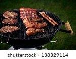 grill | Shutterstock . vector #138329114