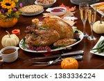 roasted pepper turkey for...   Shutterstock . vector #1383336224