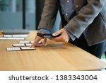 user experience  ux designer... | Shutterstock . vector #1383343004