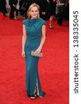 lesley sharp arriving for the... | Shutterstock . vector #138335045