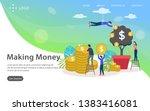 making money vector...